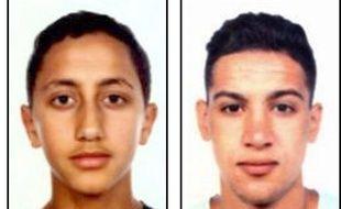 Moussa Oukabir (à gauche) et Said Aallaa ont été identifiés par la police catalane comme deux des cinq suspects abattus à Cambrils.