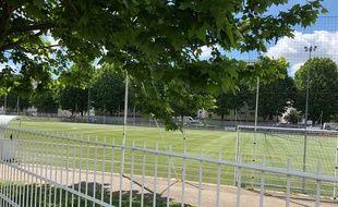 Le stade Paco-Météo, à Strasbourg.