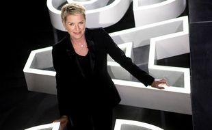 Elise Lucet sur le plateau de «Cash investigation».