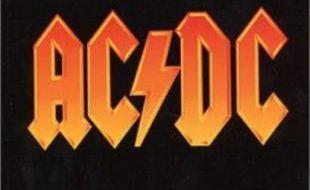 Le logo du groupe californien AC/DC