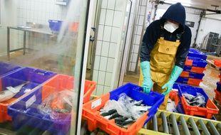 Un pêcheur en plein travail (image d'illustration).
