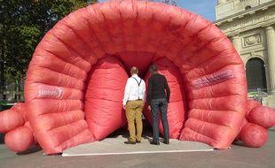 Le «prostate tour» a fait étape à Paris fin octobre.