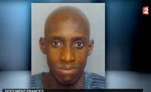 Capture d'écran du JT de France 2 du 16 avril 2012 montrant une photo non datée de Yoni P.