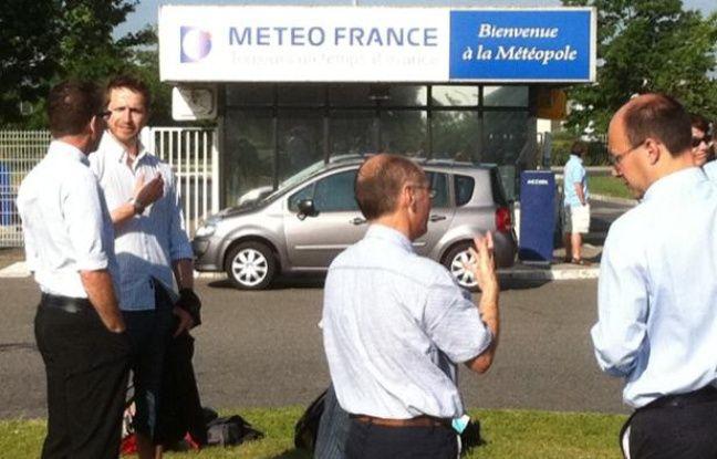 Prise d'otage au siège de Météo-France à Toulouse (Haute-Garonne), le 7 juin 2012.