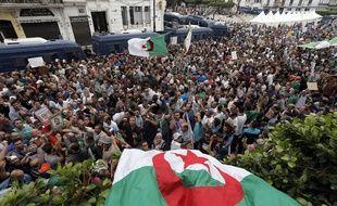 Une manifestation dans les rues d'Alger, le 13 septembre 2019, contre le pouvoir en place.