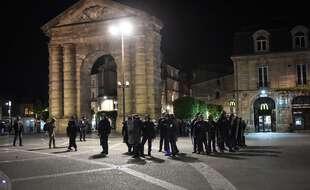Sur la place de la Victoire à Bordeaux lors d'une manifestation en 2017. (archives)