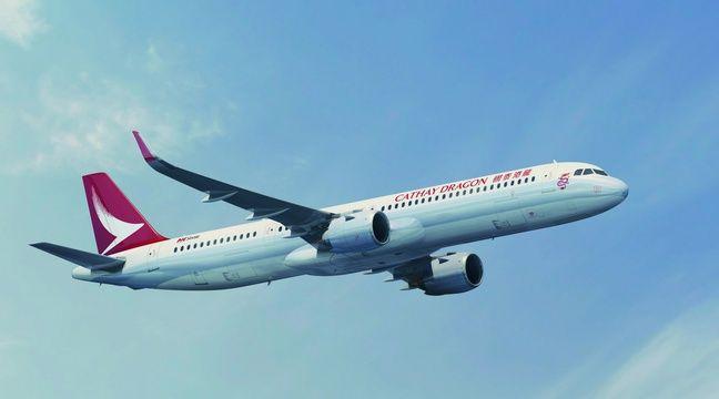 Un futur A321 de la compagnie Cathay Pacific. – Airbus