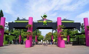 L'entrée du parc d'attractions Walygator, en Moselle.