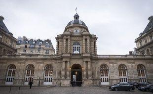Le palais du Luxembourg qui abrite le Sénat, à Paris