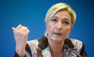 Marine Le Pen à Nanterre le 25 octobre 2013.