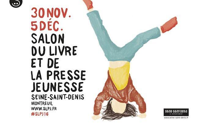 L'affiche de la 32e édition du Livre jeunesse de Montreuil.