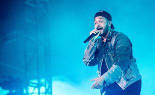 Le chanteur The Weeknd