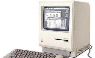 Le premier Macintosh commercialisé par Apple en 1984.