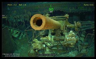 L'épave de l'«USS Lexington» a été localisée au large de l'Australie.