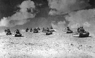 """Il y a 70 ans, 3.700 Français Libres, retranchés à Bir Hakeim dans le désert libyen, résistèrent du 27 mai au 11 juin 1942 à 32.000 soldats allemands et italiens du général Erwin Rommel, retardant l'offensive du """"Renard du désert"""" vers l'Egypte"""