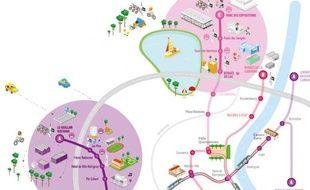 Les extensions de lignes de tramway sur l'agglomération bordelaise à partir du 24 janvier 2015