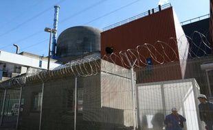 Le réacteur nucléaire EPR de Flamanville, le 28 septembre 2015, dans le nord-ouest de la France