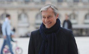 Le maire de Nancy et nouveau président du Parti radical Laurent Hénart, le 30 mars 2014.