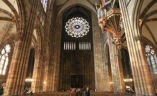 La cathédrale de Strasbourg le 16 avril 2019.