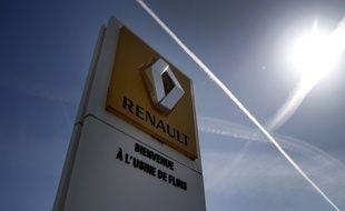 A l'usine Renault de Flins. (illustration)
