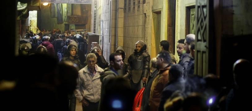 L'explosion s'est produite dans une zone touristique du Caire.