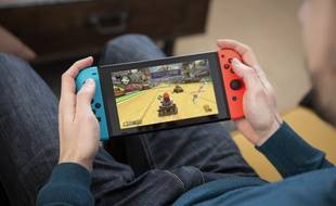 La console Switch de Nintendo.