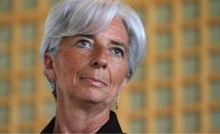 La ministre de l'Economie, Christine Lagarde, le 25 mai 2011 à Deauville.