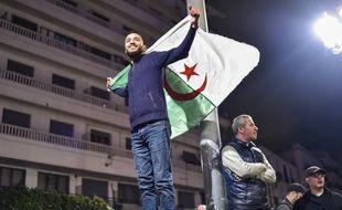 Manifestation dans le centre d'Alger le 11 mars 2019.