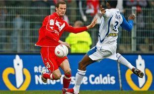 Grégory Pujol, l'attaquant valenciennois, rêve d'aller loin en Coupe de la Ligue.