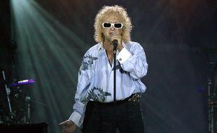 Michel Polnareff lors d'un concert le 14 juillet 2007.
