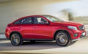 Le Mercedes GLE coupé