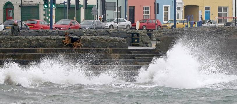 La ville de Donaghadee, non loin de Belfast, le 16 octobre 2017.