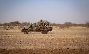 Des soldats burkinabé le 3 février 2020.