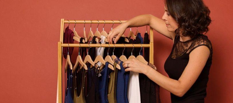 Audrey Yvon-Cléaud, styliste lyonnaise, entend révolutionner l'univers du maillot de corps.
