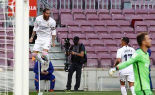 Sergio Ramos a marqué sur penalty