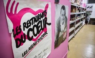 Paris, mardi 26 novembre 2019, Centre d'accueil et de distribution alimentaire Paris 15. Lancement officiel de la campagne des Restos du Coeur.//REYNAUDTRISTAN_183/1911261405/Credit:Tristan Reynaud/BCOMJS/SIPA/1911261407