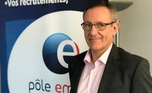 Alain Mauny, directeur régional de Pôle emploi en Pays-de-la-Loire.