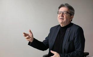 Jean-Luc Mélenchon, le 26 novembre 2020 à Paris.