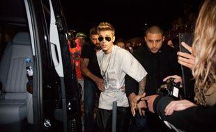 Justin Bieber à Cannes, le 22 mai 2014.