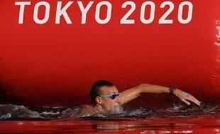 Marc-Antoine Olivier, le 4 août 2021 à Tokyo.