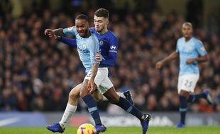 Raheem Sterling face à Chelsea