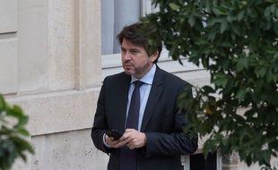 Le conseiller communication d'Emmanuel Macron, Sylvain Fort, le 24 octobre 2018 à l'Elysée.