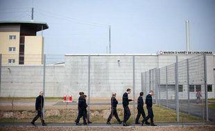 Le personnel pénitencier de la prison de Lyon-Corbas.