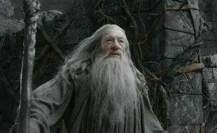 Ian McKellen (Gandalf) dans Le Hobbit: La Desolation de Smaug.