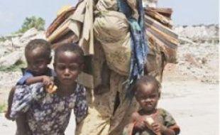 135000 Somaliens ont dû fuir.