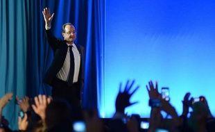 """François Hollande, vainqueur de l'élection présidentielle, s'est dit dimanche soir à Tulle """"fier d'avoir été capable de redonner espoir"""" et a assuré qu'il serait """"le président de tous""""."""