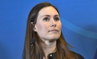 Sanna Marin, Premier ministre de la Finlande, le 8 janvier 2020.