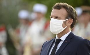 Emmanuel Macron à Ajaccio, le 10 septembre 2020.