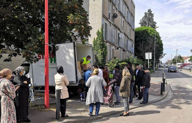 Coronavirus à Bobigny: «On est dans une action sociale de guerre» face à la crise alimentaire