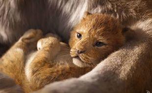 Capture d'écran de la première bande-annonce du «Roi Lion» en live action